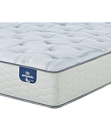 "Serta Sertapedic 12.25"" Cassaway Plush Mattress- Twin"