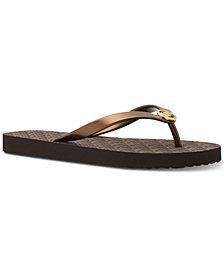 MICHAEL Michael Kors MK Flip-Flop Sandals