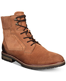 Bar III Men's Whitaker Suede Boots, Created for Macy's