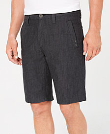 I.N.C. Men's Flat-Front Stretch Shorts, Created for Macy's