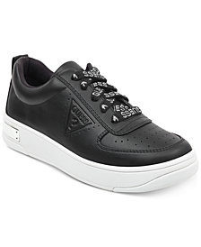 GUESS Women's Hype Lace Up Sneakers