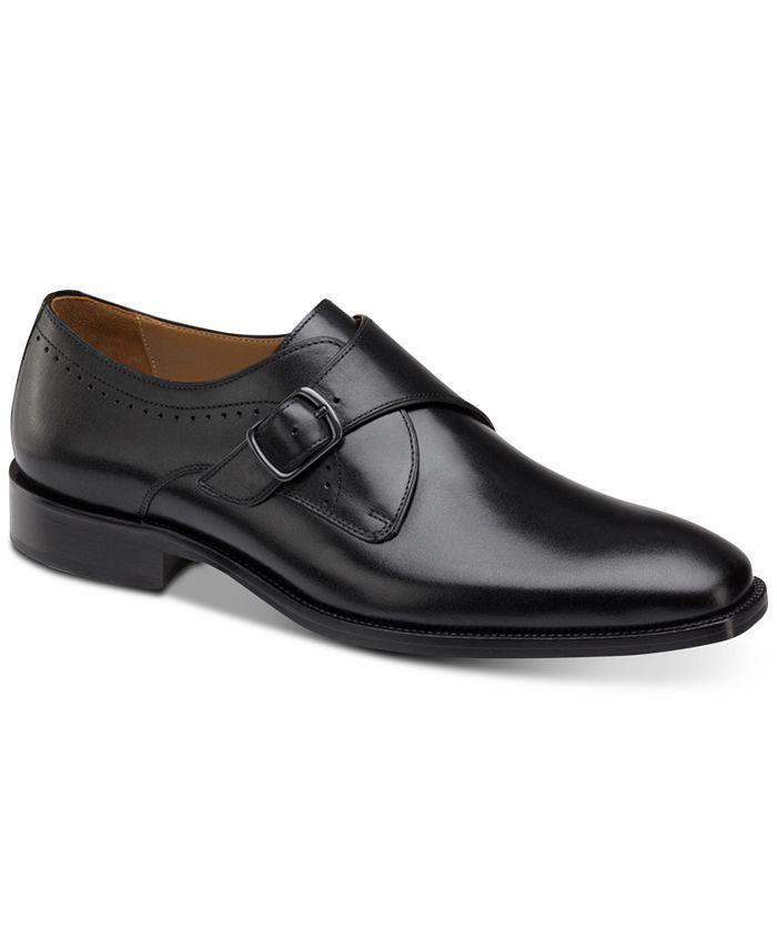 Johnston & Murphy - Men's Sanborn Monk Strap Loafers