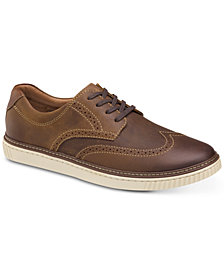 Johnston & Murphy Men's Walden Wingtip Lace-Ups, Created for Macy's