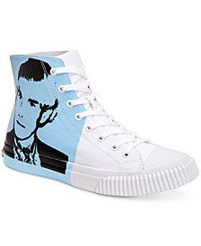 Calvin Klein Jeans Men's Iconic Warhol Print Sneakers