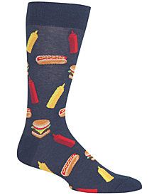 Hot Sox Men's BBQ Food Crew Socks