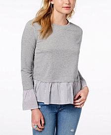 BCX Juniors' Layered-Look Top