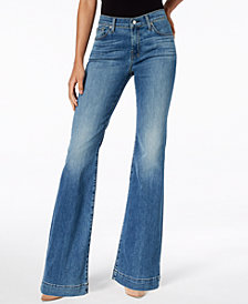 7 For All Mankind Dojo Flare-Leg Jeans