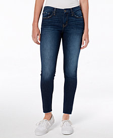 Flying Monkey Frayed Ankle Skinny Jeans