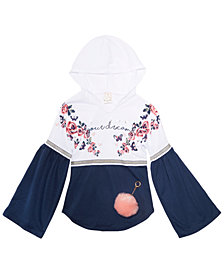 Belle Du Jour Big Girls 2-Pc. Hooded Top & Keychain Set