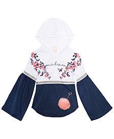 Belle Du Jour Big Girls 2-Pc. Hooded Top & Keychain Set