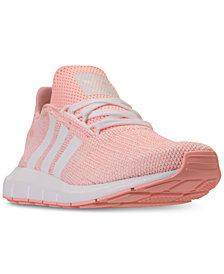 adidas Girls' Swift Run Running Sneakers from Finish Line