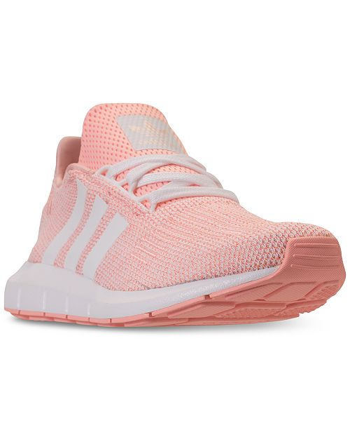 b3a63075f7a adidas Girls  Swift Run Running Sneakers from Finish Line   Reviews ...