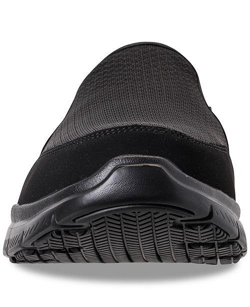 8ee426f587b0 ... Skechers Men s Work Relaxed Fit  Flex Advantage - McAllen SR Slip  Resistant Wide Width Casual ...