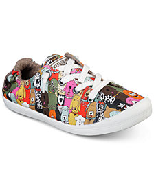 Skechers Women's Bobs Beach Bingo - Dog House Party Bobs for Dogs Casual Sneakers from Finish Line