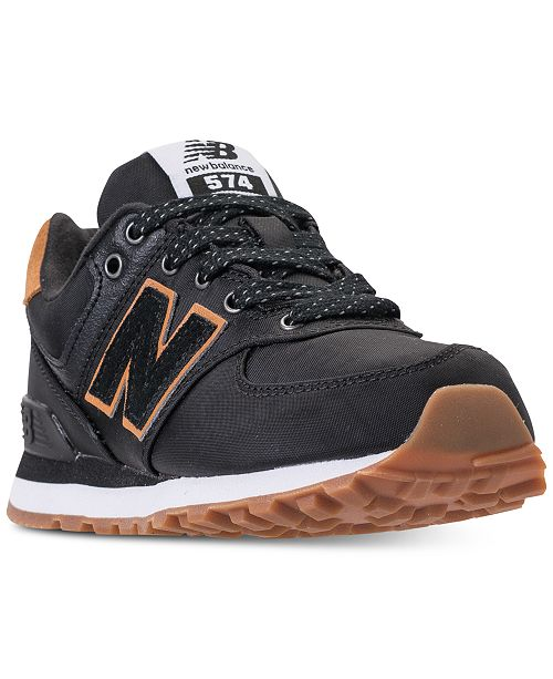 798b2fbec ... New Balance Little Boys' 574 Backpack Casual Sneakers from Finish ...