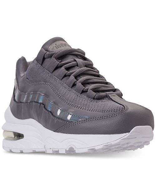 d1403012ada Nike Girls  Air Max 95 Running Sneakers from Finish Line   Reviews ...