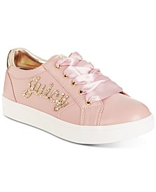 Little & Big Girls Glendale Satin Laces Sneakers