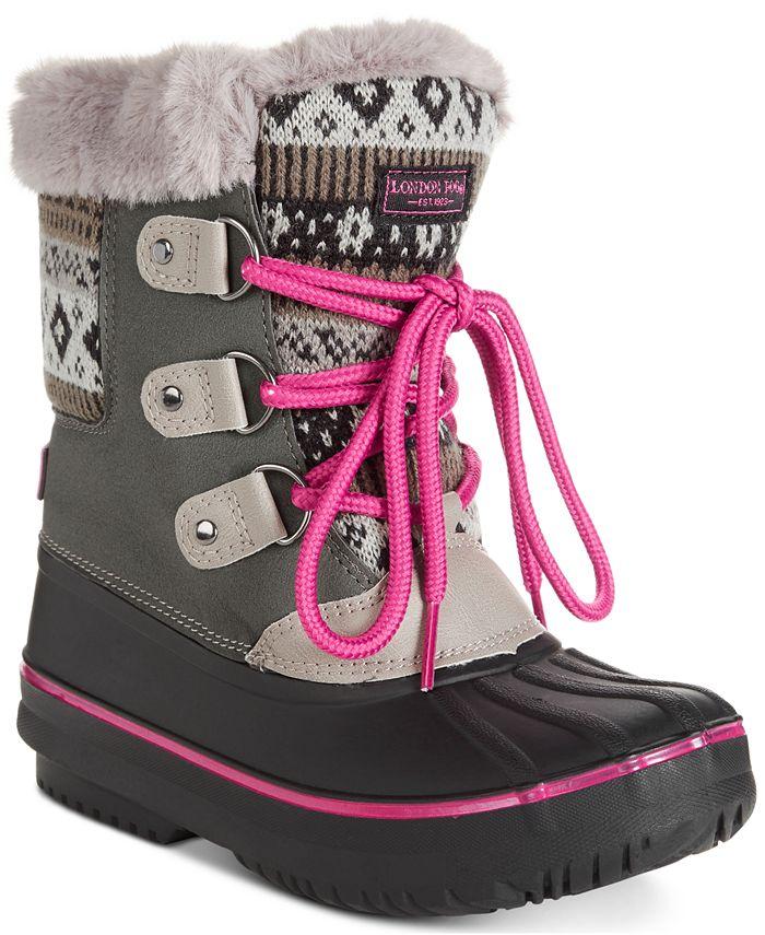 London Fog - Little & Big Girls Tottenham Snow Boots
