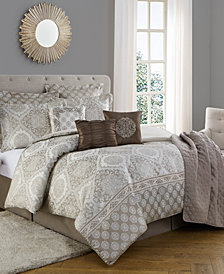 Bella 10pc  Comforter Set Full/Queen