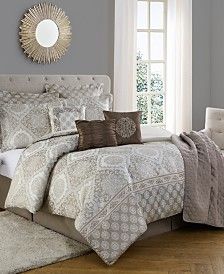 Bella 10-Piece Comforter Set, Full-Queen