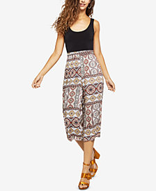 BCBGeneration Tropical Wanderlust Cropped Jumpsuit