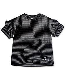 Levi's® Big Girls Striped Cotton T-Shirt