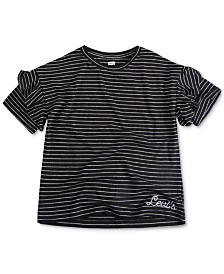 Levi's® Big Girls Striped Cotton T-Shirt