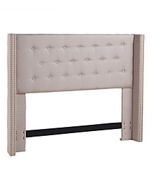 Noe Wing Headboard, Full/Queen