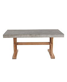 Maui Rectangular Concrete Coffee Table
