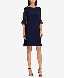 Lauren Ralph Lauren Petite Georgette Dress