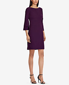 Lauren Ralph Lauren Bell-Sleeve Dress
