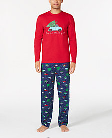 Matching Family Pajamas Men's Are We There Yet Pajama Set, Created for Macy's
