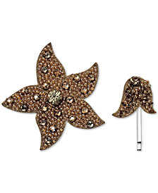 Deepa 2-Pc. Set Gold-Tone Embellished Clip & Hair Pin