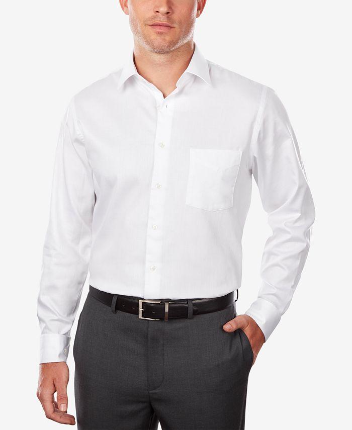 Van Heusen - Men's Classic/Regular Fit Stretch Wrinkle Free Sateen Dress Shirt