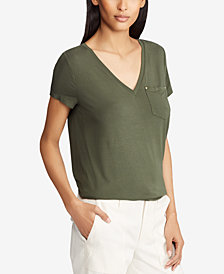 Lauren Ralph Lauren Patch Jersey T-Shirt