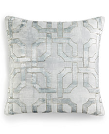 """Hotel Collection Fresco 20"""" Square Decorative Pillow, Created for Macy's"""