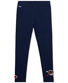 Polo Ralph Lauren Little Girls Patchwork Leggings