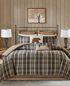 Woolrich Hadley Plaid Reversible 3-Pc. Twin Comforter Set