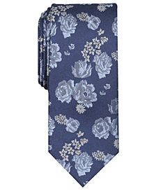 Tallia Men's Whitten Floral Slim Tie