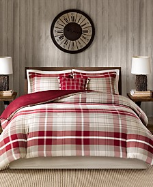 Woolrich Sheridan 4-Pc. King Duvet Cover Set