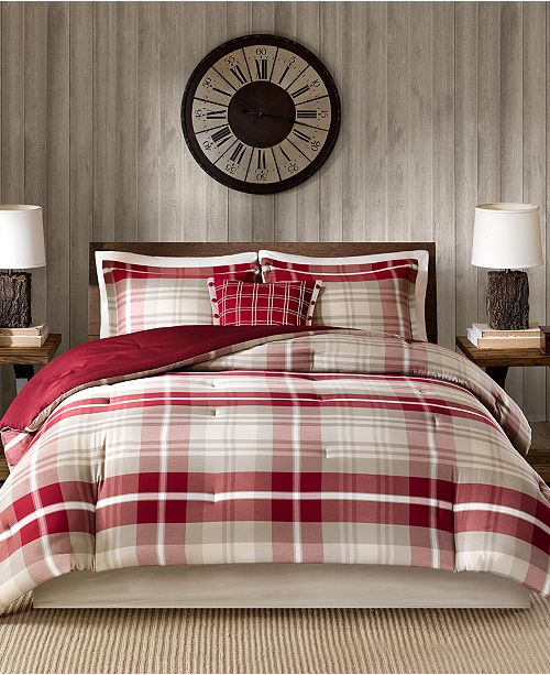 Woolrich Sheridan 4-Pc. Twin Oversized Comforter Set