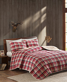 Woolrich Tasha Reversible 3-Pc. Oversized Full/Queen Quilt Mini Set