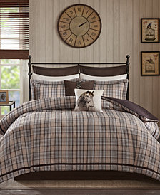 Woolrich Williamsport 8-Pc. Queen Jacquard Comforter Set