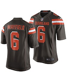 09b0aed0b Nike Men s Baker Mayfield Cleveland Browns Game Jersey