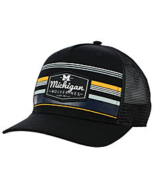 Top of the World Michigan Wolverines Top Route Trucker Cap