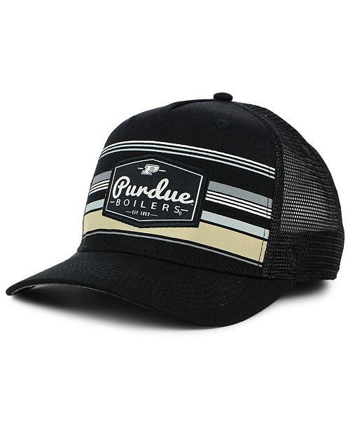cad9194194ba7 Top of the World Purdue Boilermakers Top Route Trucker Cap - Sports ...