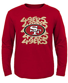 Outerstuff San Francisco 49ers Graph Repeat T-Shirt, Toddler Boys (2T-4T)