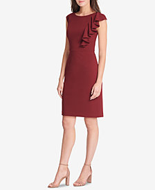 Jessica Howard Petite Ruffled Shift Dress