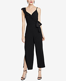 RACHEL Rachel Roy Ruffled Surplice Jumpsuit
