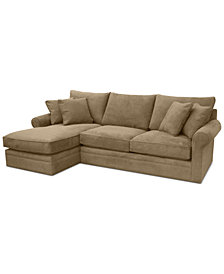 Doss II 2-Pc. Fabric Chaise Sectional